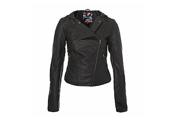 New Look biker jacket $40