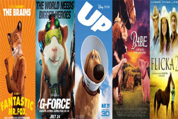 Top 10 Movie Animals