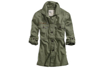 American Eagle Soft Military Jacket $49.50