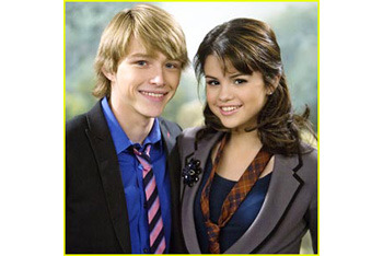 Sterling and Selena Gomez