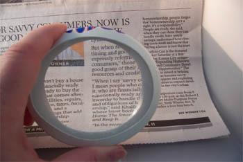 Aquafier Magnifying Lens Kit