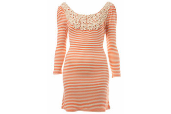 Stripe Corsage Tunic, Miss Selfridge, $40