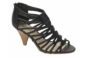 Woven Strap Heel, New Look, $30