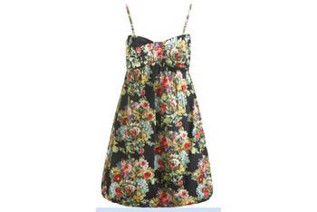 Bow Bust dress, Wet Seal, $16
