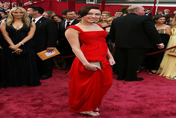 Oscars red carpet in 2008