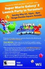 Toronto Launch Party :: Super Mario Galaxy 2