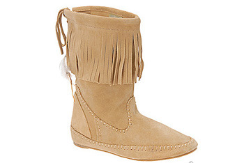 Pasclina ankle boots with fringe from Spring Shoes $69