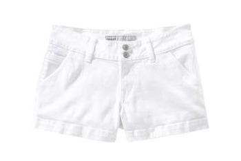 White denim shorts from Old Navy, $15