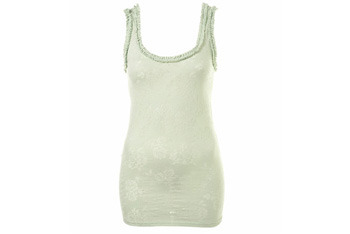 Rose frill tunic from Topshop, $20