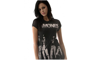 Ramones t-shirt from Sugarbullets.co.uk, $40