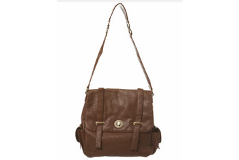 Tan Lilly day bag from Miss Selfridge, $45