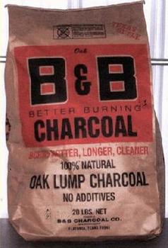 Natural BBQ charcoal