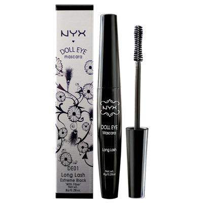"NYX Doll Eye mascara in ""Black"", $9.59"