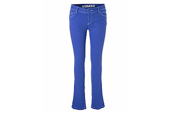 Coloured skinny jeans from New Look, $22