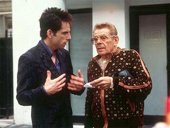 Ben Stiller with Dad Jerry Stiller