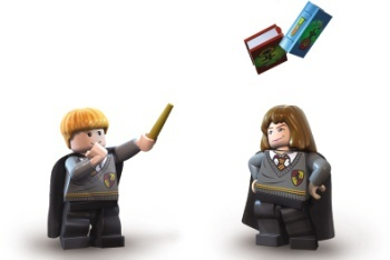 LEGO Ron and Hermione