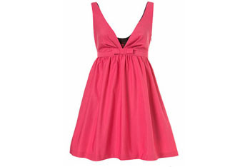 Gossip Girl Blair Pink Babydoll dress from Miss Selfridge, $70