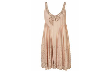 Bow stud dress from Topshop, $80