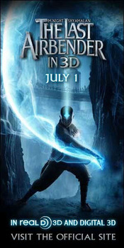 The Last Airbender in theatres July 2, 2010