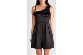 One shoulder dress from Charlotte Russe, $32
