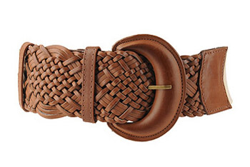 Natural impressions belt from Forever 21, $7.80