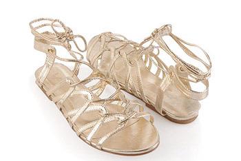 Elegance Lattice sandal from Forever21.com, $18.80