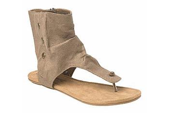 Stud Cuff flat sandals from NewLook.com, $24