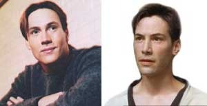 Left: Chris | Right: Keanu