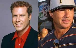 Will Ferrell photo: Courtesy of NBC, Chad Smith photo: Courtesy of Shazamm/ESPN