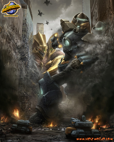 Warriors The Broken Code The Scorching Earth: Monsterpocalypse :: Game Preview