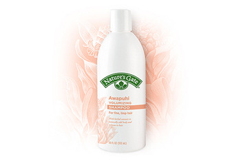 Nature's Gate Awapuhi shampoo and conditioner from health food stores, $6.29 each
