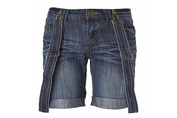 Brace denim shorts from NewLook.com, $20
