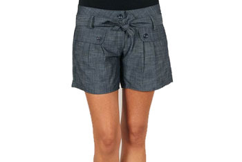 Tie waist chambray shorts from GoJane.com, $15.60