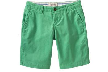 Bermuda shorts from OldNavy.com, $24.50