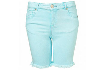 Mint knee shorts from Topshop, $55