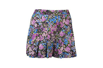 Floral flounce shorts from Forever21.com, $17.80