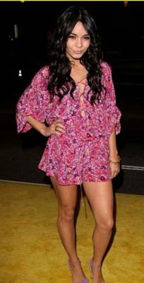 Vanessa in onr of her many floral rompers