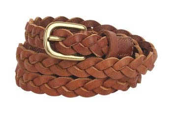 Tori skinny braided belt from Delias.