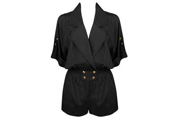 Snap buttoned accent romper from Forever21.com, $27.80