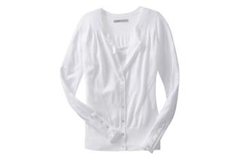 Pointelle-trim cardigans from OldNavy.com, $26.50