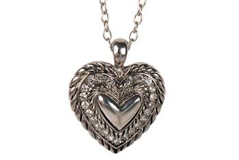 Double sided heart necklace from Forever21.com, $4.80