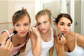 Apply makeup in good lighting