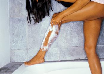 Shaving My Legs