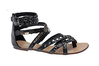 Sartori studded gladiator sandal from MySpringShoes.com, $29