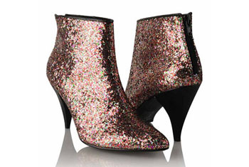 Glitter ankle boot from Forever21.com, $13.99