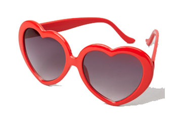 Sweetheart Sunnies from FredFlare.com, $11