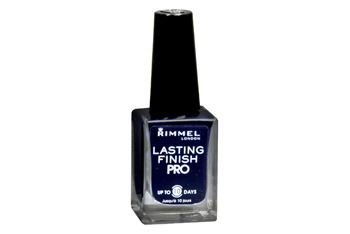 Rimmel Lasting Finish Pro Nail Lacquer in Midnightfrom Walgreens.com, $3.99