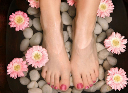 Pamper your feet with a home pedicure!