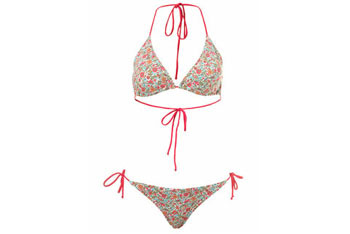 Ditsy floral bikini in pink from MissSelfridge.com, $40