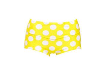 Yellow polka dot bikini bottom from LaRedoute.com, $15